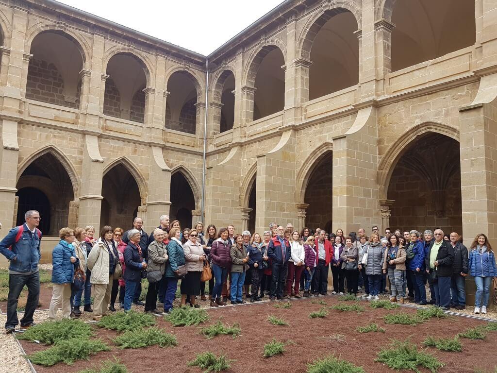 La reapertura del claustro de Fitero dispara las visitas de turistas