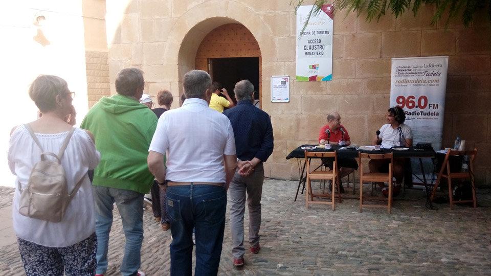 Noticia en Radio Tudela sobre las Jornadas de Gastronomía de Fitero y Trashumancia