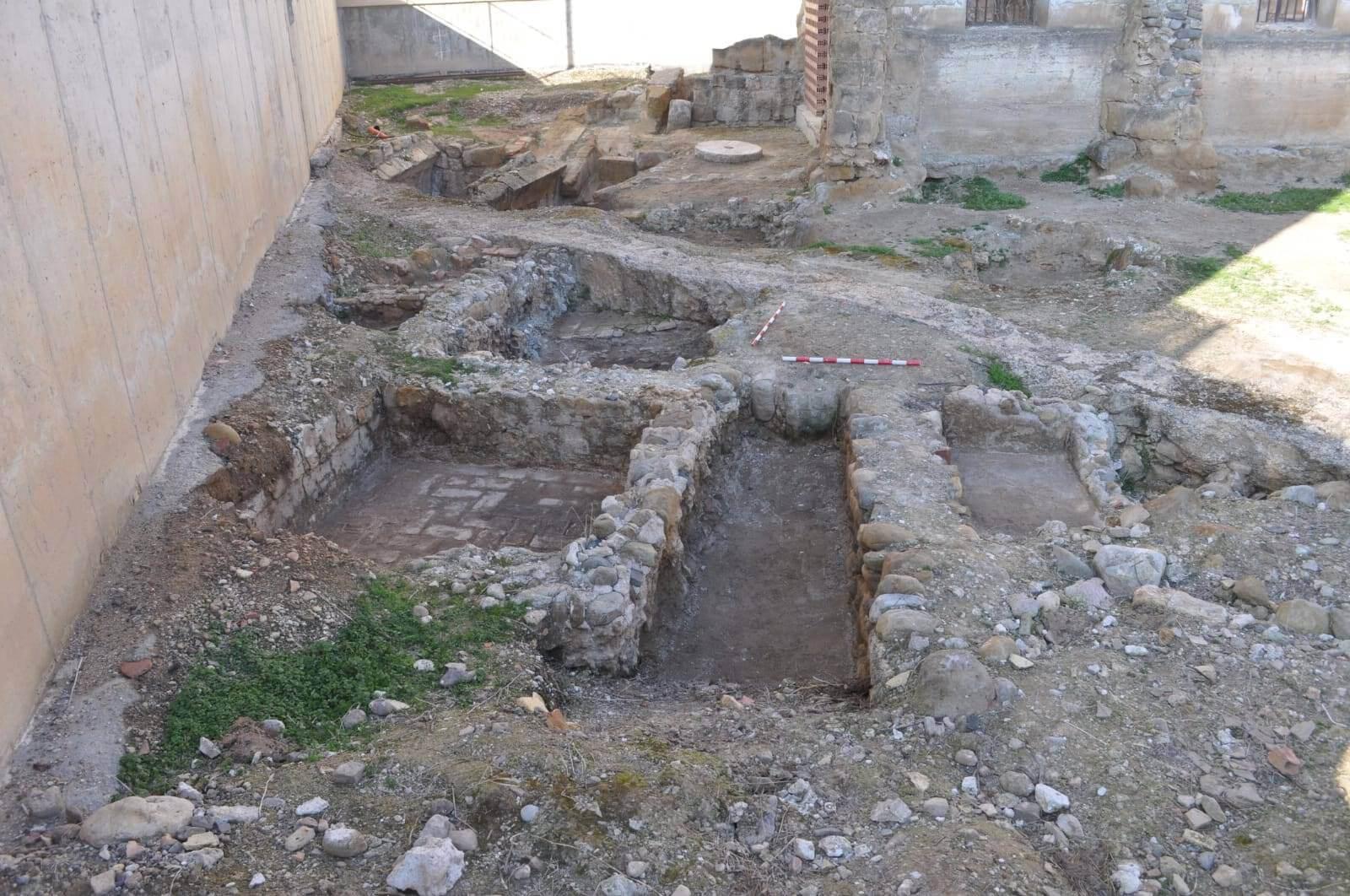 Proyecto para la limpieza y conservación del entorno del sitio arqueológico del Monasterio de Castellón en Fitero (Navarra).