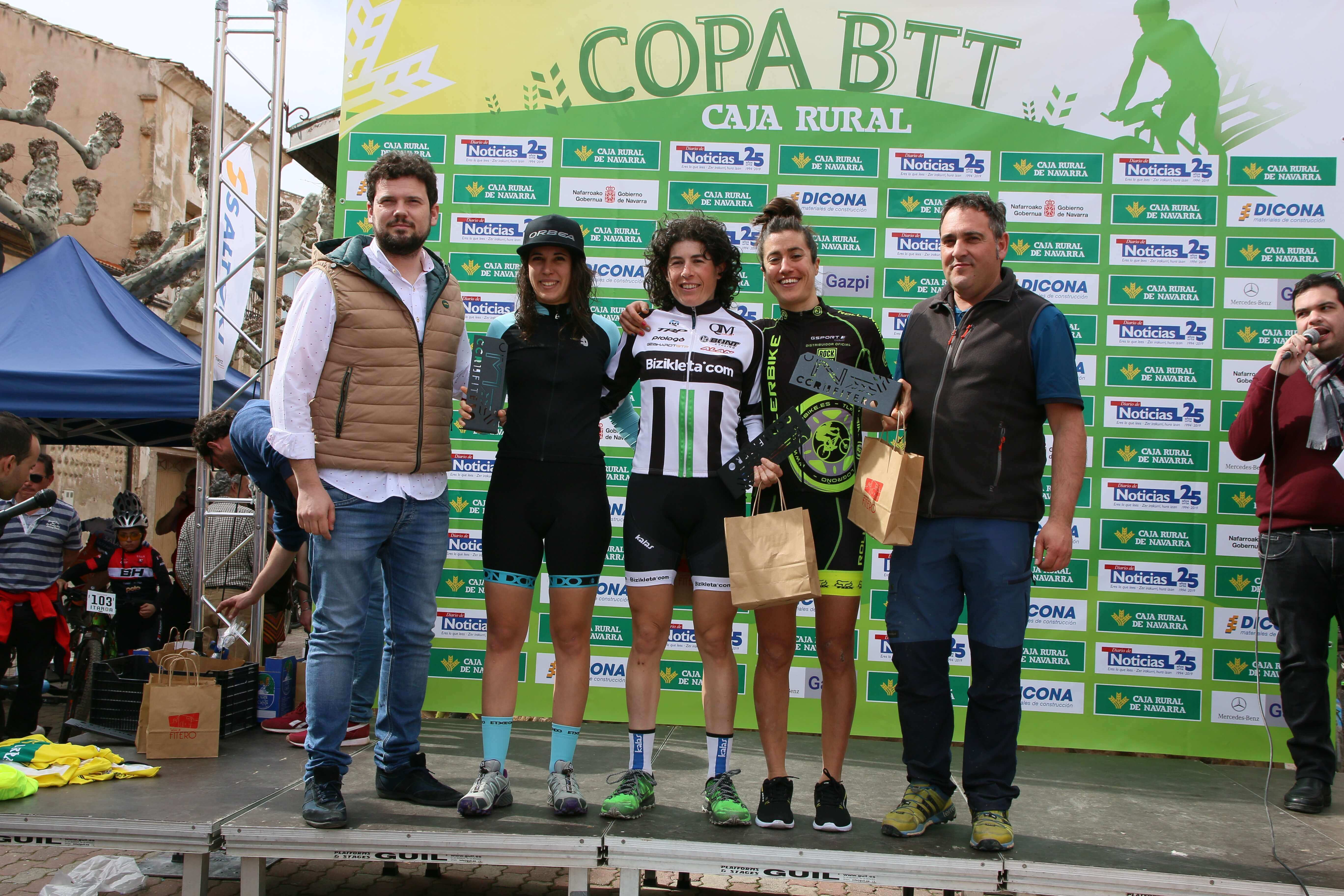 Fitero ha sido la encargada de abrir la Copa Caja Rural BTT 2019