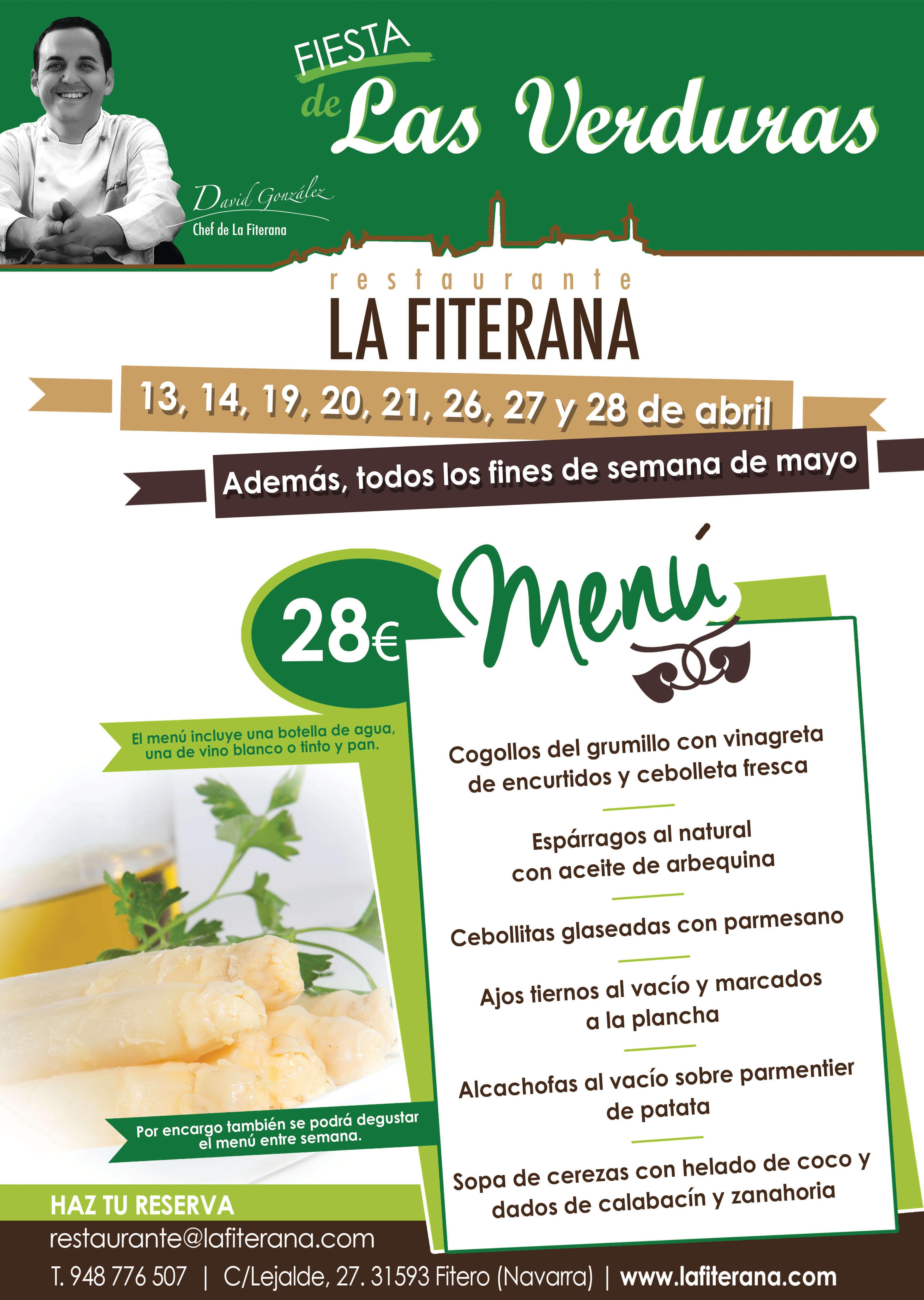 Fiesta de las Verduras en Restaurante La Fiterana