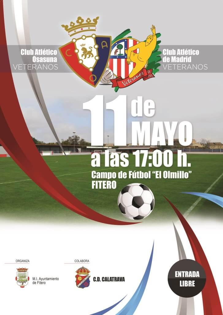 Fútbol veteranos: Club Atlético Osasuna – Club Atlético de Madrid. Fitero, 11 mayo