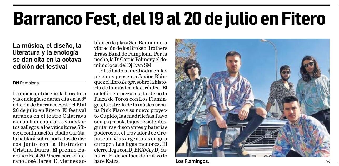 BarrancoFest, del 19 al 20 de julio en Fitero