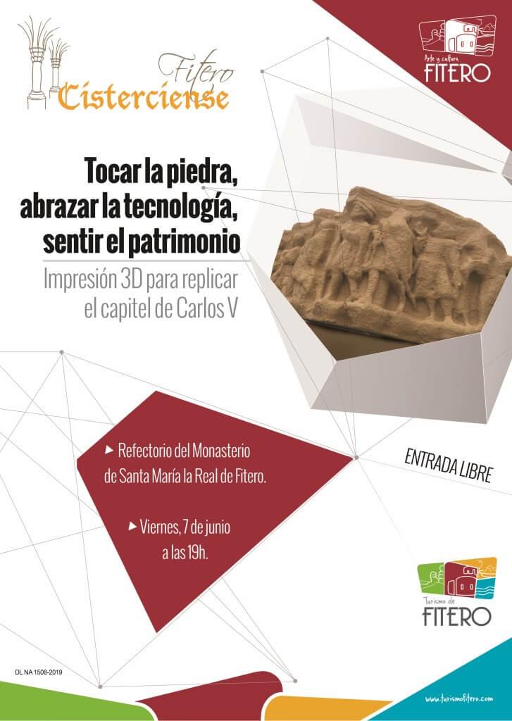 Tocar la piedra, abrazar la tecnología, sentir el patrimonio