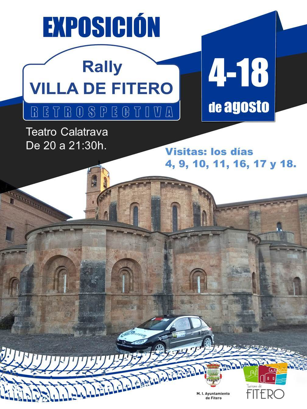 Una exposición repasa la historia del Rally de Fitero