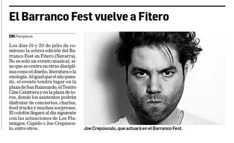 El Barranco Fest vuelve a Fitero